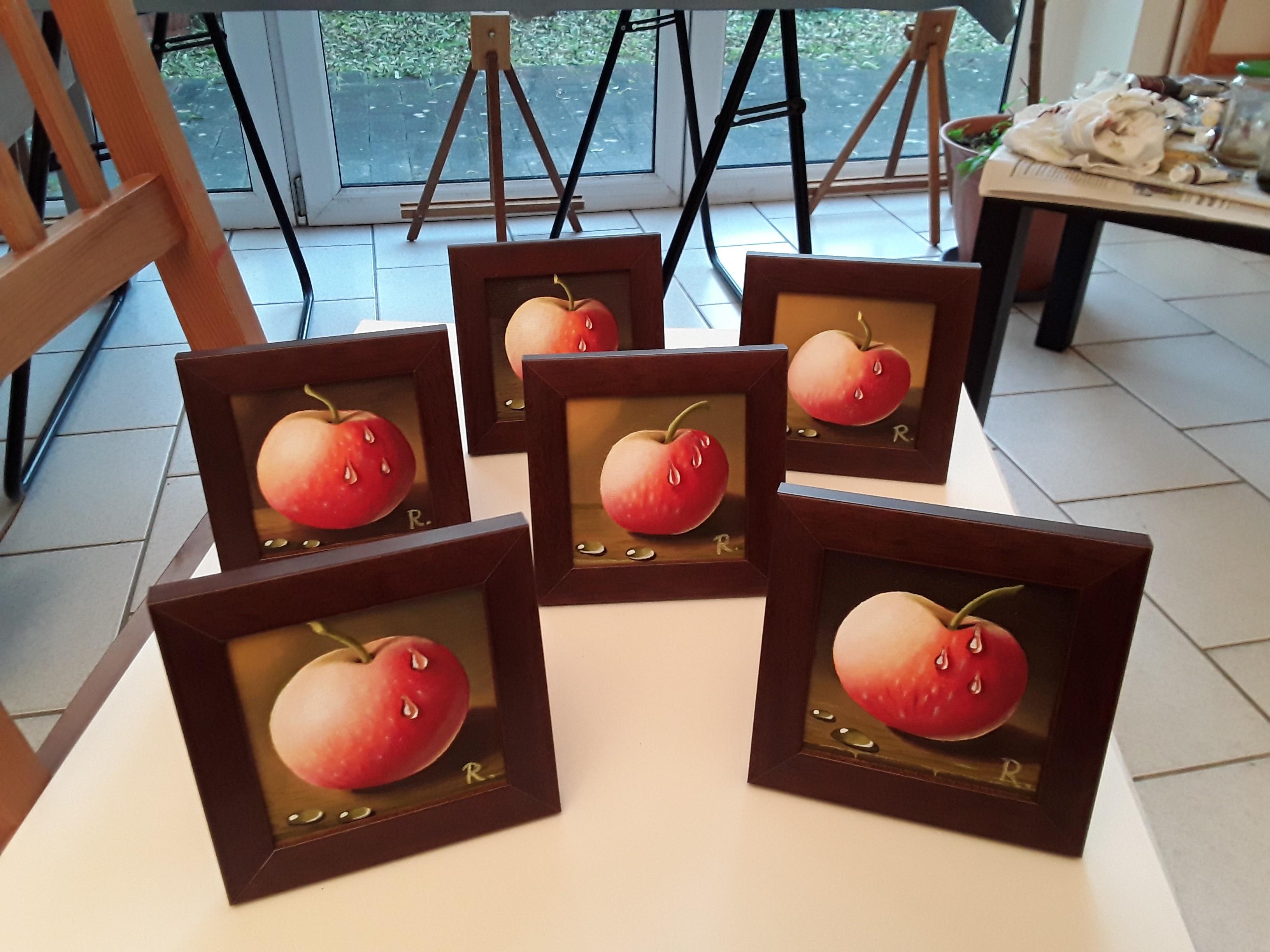 Äpfelchen in Öl